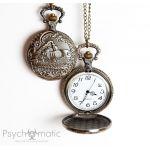 Стимпанк. Карманные часы, подвески, серьги, браслеты и многое другое.