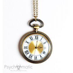 Стимпанк часы. Карманные часы с римскими цифрами.