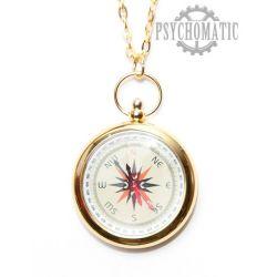 Карманные часы стилизованные под старинный компас.