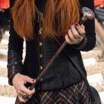 Стимпанк трость прогулочная стилизованная под старую медь. Steampunk walking stick copper with top.