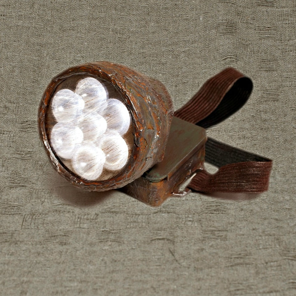Post Apocalyptic Lamp Light Torch Post Apocalyptic Rustic Lights On
