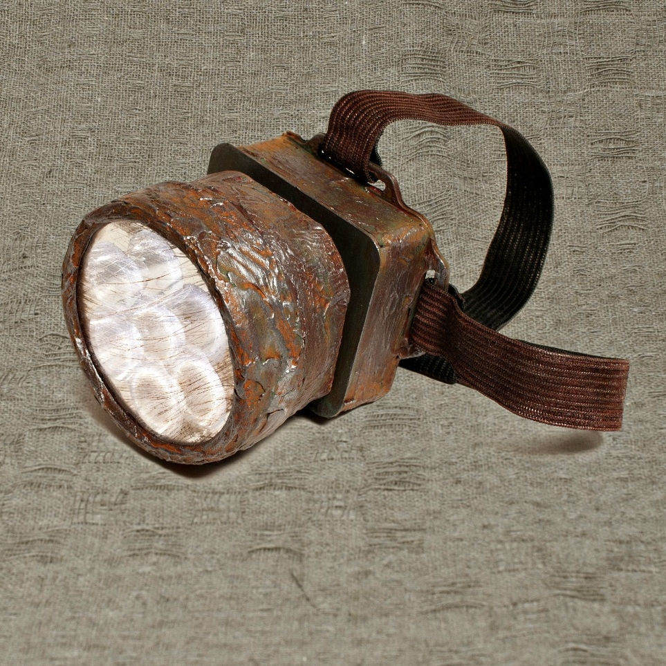 Post Apocalyptic Lamp Light Torch Post Apocalyptic Rustic Lights