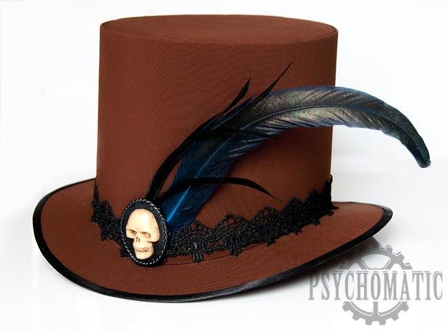 Стимпанк шляпа цилиндр фото