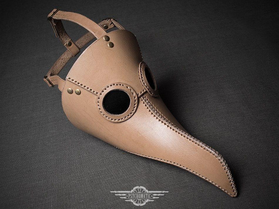 Чумной доктор маска Альбино