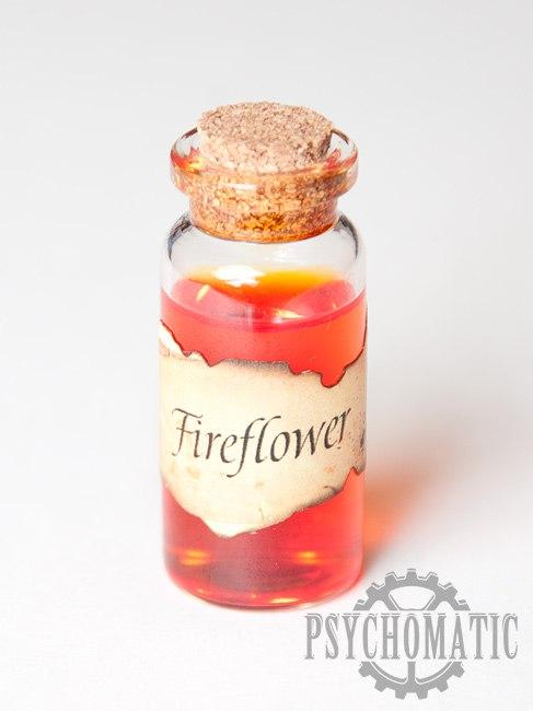Подвеска стимпанк FireFlower