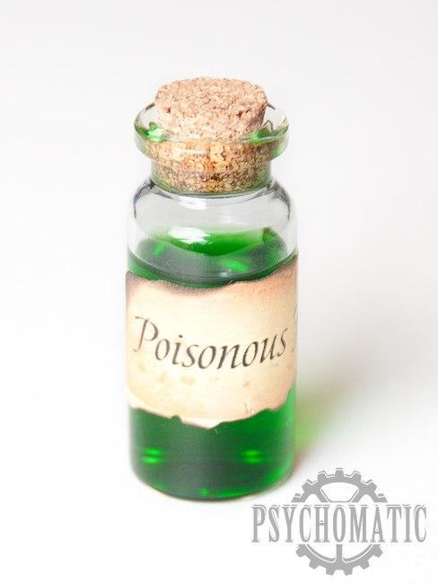 Подвеска стимпанк Poisonous Fog
