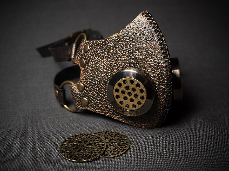 Steampunk gaz mask