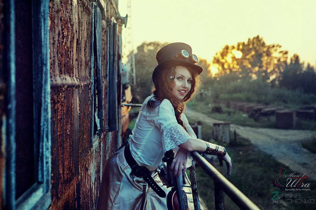 steampunk fashion fotoset