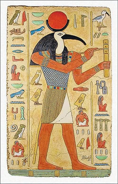 Египетский бог Тот. Бог врачевания.